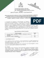 Edital 03-2015 Processo Seletivo Especial PADT