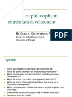 The Role of Philosophy in Curriculum Development
