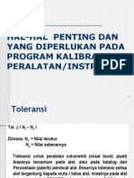 HAL-HAL  PENTING pd kalibrasi.ppt