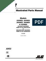 JLG 1930-ES 2030-ES 2630-ES 2646-ES 3246-ES Parts Catalog
