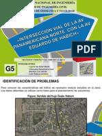 intersección vial de la Av. Panamericana con Av. Habich