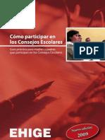 EHIGE 2009_COMO PARTICIPAR EN LOS CONSEJOS ESCOLARES