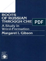 The Roots of Russian through Chekhov