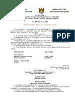 Hotarirea Guvern R.M. Nr.1140 Din 02.11.2005