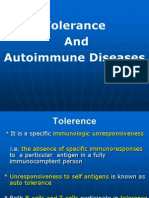 Tolerence and Autoimmun Diseases.1