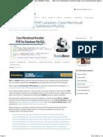 Tutorial PHP_  Koneksi PHP Ke Database MySQL _ Dunia Ilkom