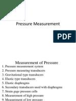 Pressure Measurement Final