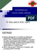 Patofisiologi & Penatalaksanaan Gagal Ginjal Kronik
