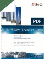S11OS_SAP2000 v 15 Hands-On Training