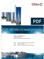 S11OS_SAP2000 v 15 Hands-On Training