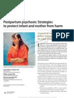 Postpartum Psychosis Strategies