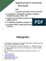 Uniunea Europeana Tendinte Integrationiste