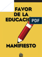GOIESKOLA_MANIFIESTO A FAVOR DE LA EDUCACION