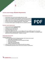 Varonis DataPrivilge Evaluation Requirements-01.2014