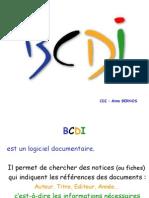 Mode d'Emploi de BCDI 2008