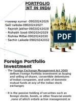 foreign portfolio investment in India