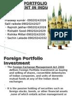 foreign portfolio investment in India