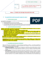 Thème 211 - L'analyse néo-classique du marché du travail.doc