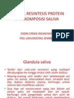 214840926 Sekresi Resintesis Protein Dan Komposisi Salivaa