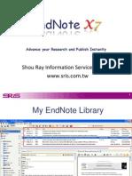 Cdnete.lib.Ncku.edu.Tw 93cdnet Libref Handout EndNoteX7 En