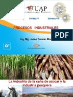 Processos Industriales La Industria de La Caña de Azucar