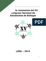 Conebiol 2014 Libro Resumenes-LIma