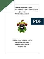 Laporan Kemajuan Pelaksanaan Ppkps Prodi Pendidikan Dokter Fk Unhas