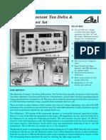 Dielectric Constant Tan Delta & Resistivity Test