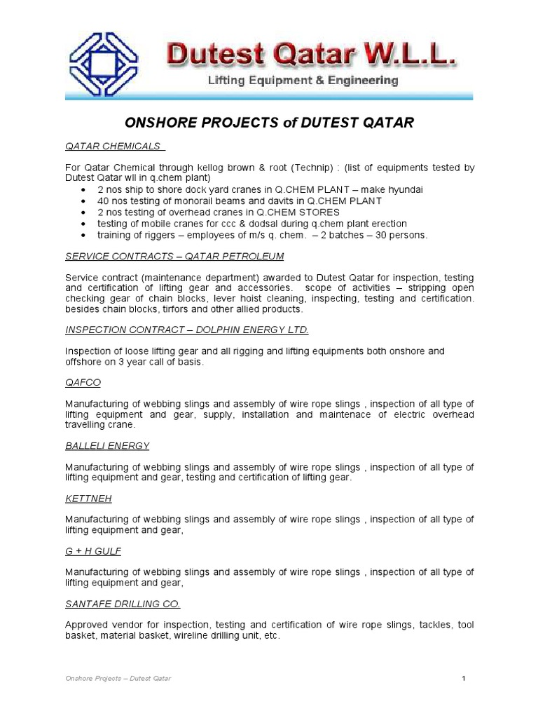 Onshore projects of dutest qatar crane machine industries 1betcityfo Image collections