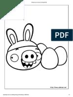Dibujos Para Colorear de Angry Birds