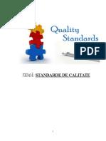 Calitate Standarde