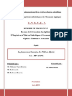 Le Financement Bancaire Des PME en Algérie