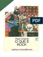 Chacon, p. o Que é Rock