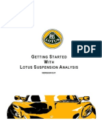 Getting Started With Lotus Suspension Analysis