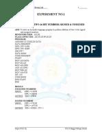 Microprocessors & Interfacing Lab Manual