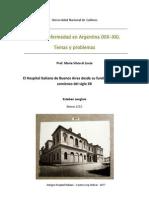 El Hospital Italiano de Buenos Aires Entre Los Siglos XIX y XX