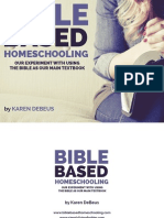 Bible Based Homeschooling Final