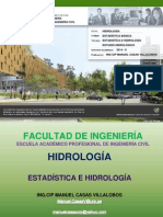 Introduccion a Estadistica en HIDROLOGIA