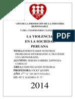 Monografia de Violencia