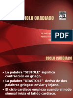 Ciclo Cardiaco Clase 3a