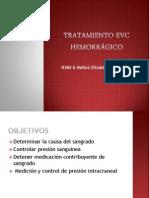 Tratamiento EVC Hemorrágico