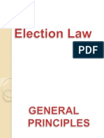 Election law Power Point report