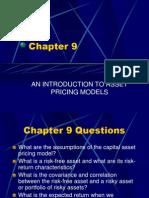 Arbitage Pricing Model
