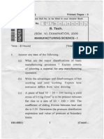 Manufacturing Science 1