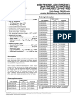 Data Sheet Acquired From Harris Semiconductor SCHS122I
