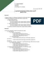 Proiectare an IV IPG (Partea a II-A)