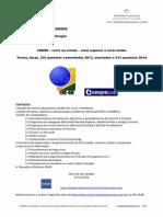 TRE/GO - Informática de Concursos - CESPE - Certo Errado - teoria, 422 questões comentadas, simulados, dicas e estatísticas