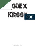 KrootCodex v0.1 by Daniele Vittadello