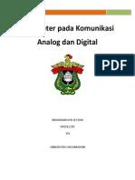 Parameter Pada Komunikasi Analog Dan Digital