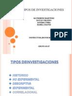 TIPOS DEINVESTIGACIONES#2